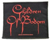 Children of Bodom - 'Blood Logo' Woven Patch